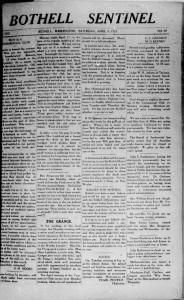 Sentinel April 9 1921