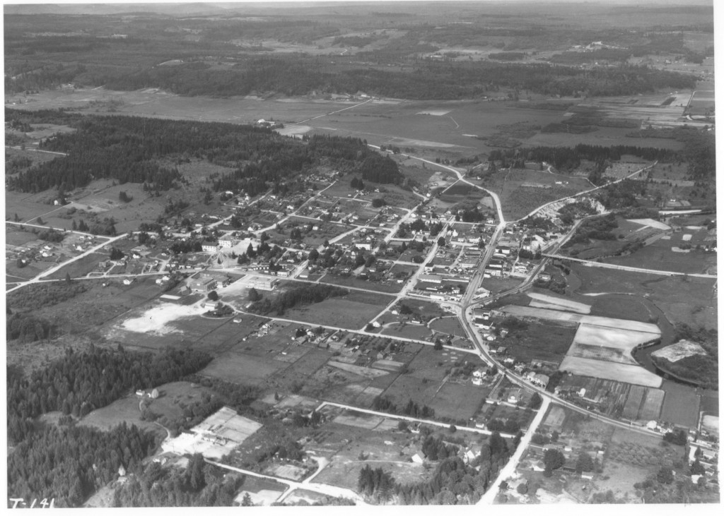 Bothell Aerial View May 1933
