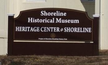 Shoreline Historical Museum sign photo