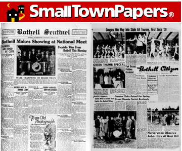 SmallTownPapers with 2 Bothell issues