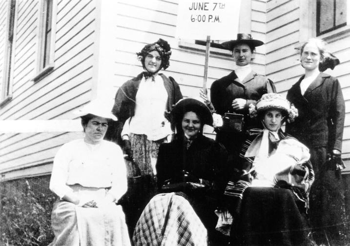 1912 Bothell High School graduates--Sarah Simonds front center
