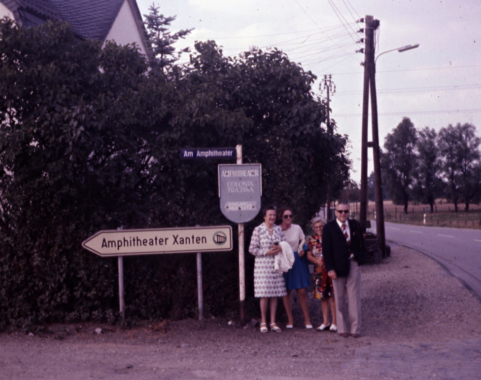 Trip to Germany visiting the family of Ludger Hölscher, whom Ron first met in 1938.